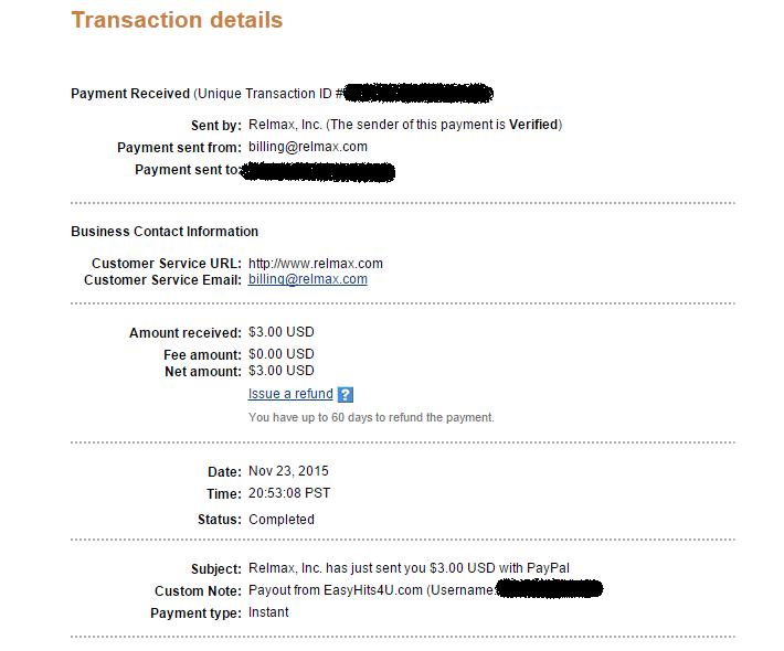 easyhits4u kifizetés