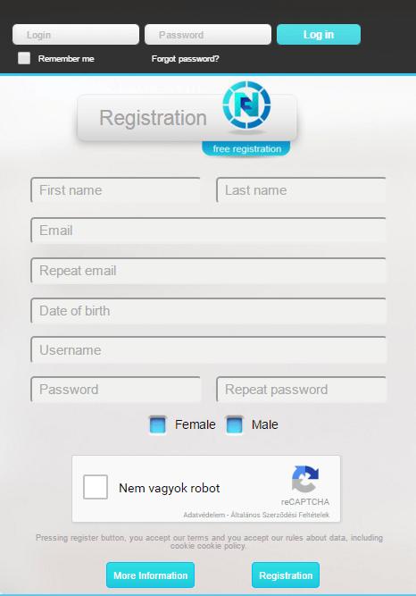 futurenet regisztráció